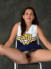 Quickly answered Hairy cheerleader pussy images personal